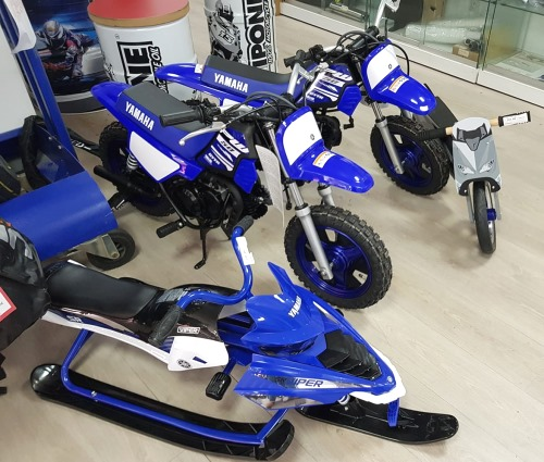 PW draisienne TMAX luge yamaha